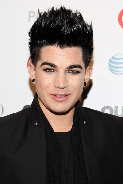 NEW YORK, NY - NOVEMBER 17:  Recording artist Adam Lambert attends 2011 OUT100 at the Skylight SOHO on November 17, 2011 in New York City.  (Photo by Cindy Ord/Getty Images) *** Local Caption *** Adam Lambert;