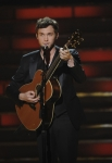 AMERICAN IDOL: The Season 11 winner Phillip Phillips performs his victory song during the sason 11 AMERICAN IDOL GRAND FINALE at the Nokia Theatre on Weds. May 23, 2012 in Los Angeles, California.  CR: Michael Becker/FOX