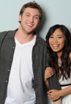 AMERICAN IDOL: The final 2: L-R: Phillip Phillips and Jessica Sanchez. CR: Michael Becker / FOX.