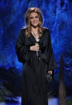 AMERICAN IDOL: Lisa Marie Presley performs on AMERICAN IDOL airing Thursday, May 17 (8:00-9:00 PM ET/PT) on FOX. CR: Michael Becker / FOX.