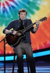 AMERICAN IDOL: Phillip Phillips performs in front of the judges on AMERICAN IDOL airing Wednesday, May 2 (8:00-10:00 PM ET/PT) on FOX. CR: Michael Becker / FOX.