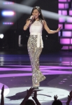 AMERICAN IDOL: Jessica Sanchez performs in front of the Judges on AMERICAN IDOL airing Wednesday, March 14 (8:00-10:00 PM ET/PT) on FOX. CR: Carin Baer / FOX.