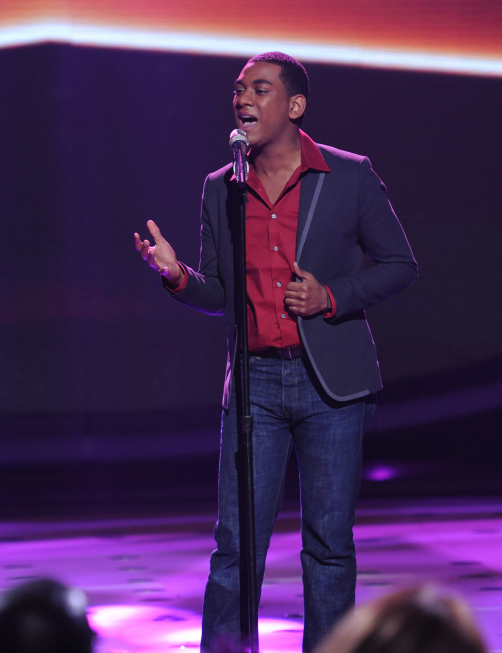AMERICAN IDOL: Joshua Ledet performs in front of the Judges on AMERICAN IDOL airing Tuesday, Feb. 28 (8:00-10:00 PM ET/PT) on FOX. CR: Michael Becker / FOX.