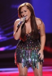 AMERICAN IDOL: Skylar Laine performs in front of the Judges on AMERICAN IDOL airing Wednesday, Feb. 29 (8:00-10:00 PM ET/PT) on FOX. CR: Michael Becker / FOX.