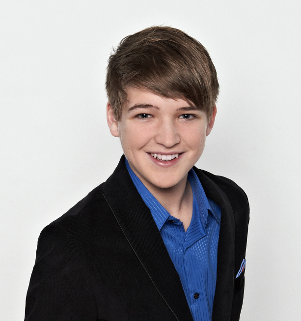 AMERICAN IDOL: TOP 24 SEMIFINALISTS: Eban Franckewitz, 15. Loveland, OH. CR: Michael Becker / FOX.