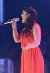 AMERICAN IDOL: Kree Harrison performs on AMERICAN IDOL Wednesday, May 15,  (8:00-9:00 PM ET/PT) on FOX. CR: Ray Mickshaw / FOX. © Copyright 2013 FOX BROADCASTING.