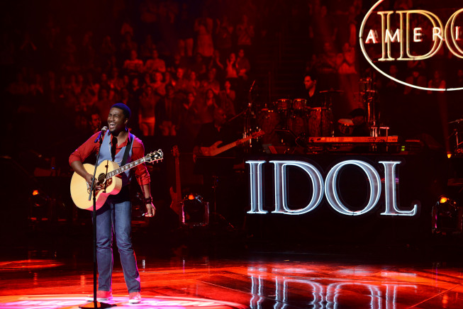 AMERICAN IDOL: David Oliver Wells in the Sudden Death Round of AMERICAN IDOL airing Thursday, Feb. 28 (8:00-10:00PM ET/PT) on FOX. CR: Michael Becker / FOX. Copyright / FOX.