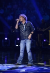 AMERICAN IDOL: Jimmy Smith performs in the Sudden Death Round of AMERICAN IDOL airing Thursday, Feb. 21 (8:00-10:00PM ET/PT) on FOX. CR: Michael Becker / FOX. Copyright / FOX.