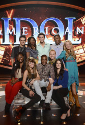 AMERICAN IDOL: Clockwise From Top Left: Lazaro Arbos, Amber Holcomb, Paul Jolley, Curtis Finch, Jr., Janelle Arthur, Kree Harrison, Devin Velez, Burnell Taylor, Angie Miller and Candice Glover. CR: Michael Becker / FOX. Copyright: FOX.
