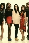 AMERICAN IDOL: TOP 20:  L-R: Tenna Torres, Amber Holcomb,  Kree Harrison, Adriana Latonio and CR: Michael Becker / FOX. Copyright / FOX.