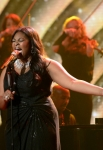 AMERICAN IDOL: Candice Glover performs on AMERICAN IDOL Wednesday, May 8 (8:00-10:00 PM ET/PT) on FOX. CR: Michael Becker / FOX. Copyright: FOX.
