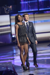 AMERICAN IDOL: Amber Holcomb (L) is eliminated on AMERICAN IDOL Thursday, May 2 (8:00-9:00 PM ET/PT) on FOX. Also pictured: Ryan Seacrest, R. CR: Frank Micelotta / FOX. Copyright: FOX.