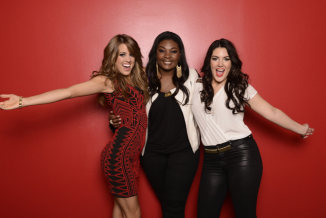 AMERICAN IDOL: Final Three: L-R: Angie Miller, Candice Glover and Kree Harrison. CR: Michael Becker / FOX. Copyright: FOX.