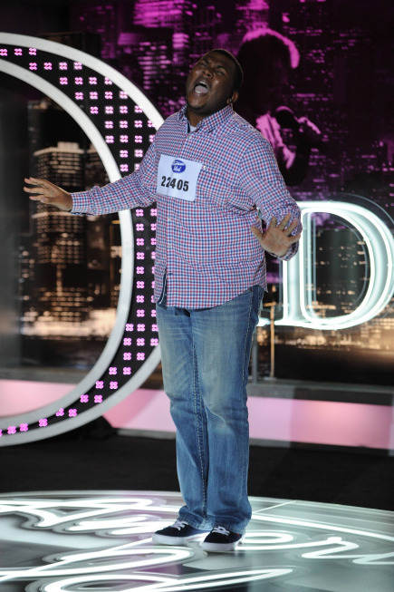 American Idol: Top 40: Curtis Finch Jr., 24, from St. Louis, MO. ©2013 Fox Broadcasting Co. CR: Michael Becker / FOX.