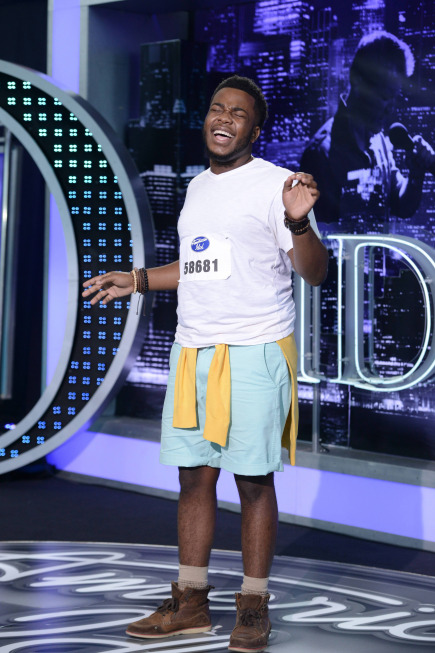 American Idol: Top 40: Burnell Taylor, 19, from New Orleans, LA. ©2013 Fox Broadcasting Co. CR: Michael Becker / FOX.
