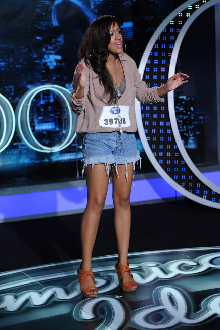 American Idol: Top 40: Tenna Torres, 28, from Queens, NY. ©2013 Fox Broadcasting Co. CR: Michael Becker / FOX.