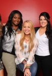 AMERICAN IDOL: TOP 5: L-R: Angie Miller, Candice Glover, Janelle Arthur, Kree Harrison and Amber Holcomb. CR: Ray Mickshaw / FOX.