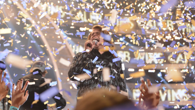 AMERICAN IDOL XIII: Caleb Johson is crowned the AMERICAN IDOL at the NOKIA THEATRE L.A. LIVE on Wednesday, May 21 (8:00-10:00 PM ET/PT) on FOX. CR: Michael Becker/FOX.
