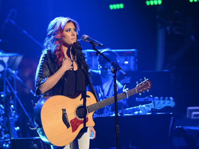 AMERICAN IDOL XIII: Jessica  Meuse performs on AMERICAN IDOL XIII airing Wednesday, April 23 (8:00-10:00 PM ET / PT) on FOX.  CR: Michael Becker / FOX. Copyright 2014 / FOX Broadcasting.