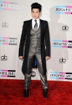 LOS ANGELES, CA - NOVEMBER 20:  Singer Adam Lambert arrives at the 2011 American Music Awards held at Nokia Theatre L.A. LIVE on November 20, 2011 in Los Angeles, California.  (Photo by Steve Granitz/WireImage) *** Local Caption *** Adam Lambert;