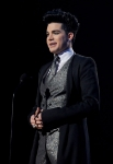 LOS ANGELES, CA - NOVEMBER 20:  Singer Adam Lambert speaks onstage at the 2011 American Music Awards held at Nokia Theatre L.A. LIVE on November 20, 2011 in Los Angeles, California.  (Photo by Kevin Winter/AMA2011/Getty Images for AMA) *** Local Caption *** Adam Lambert;