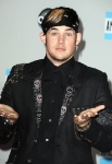 LOS ANGELES, CA - NOVEMBER 20: Singer James Durbin arrives at the 2011 American Music Awards held at Nokia Theatre L.A. LIVE on November 20, 2011 in Los Angeles, California. (Photo by Steve Granitz/WireImage) *** Local Caption *** James Durbin;