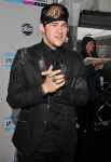 LOS ANGELES, CA - NOVEMBER 20: Singer James Durbin arrives at the 2011 American Music Awards held at Nokia Theatre L.A. LIVE on November 20, 2011 in Los Angeles, California. (Photo by Lester Cohen/AMA2011/WireImage) *** Local Caption *** James Durbin;