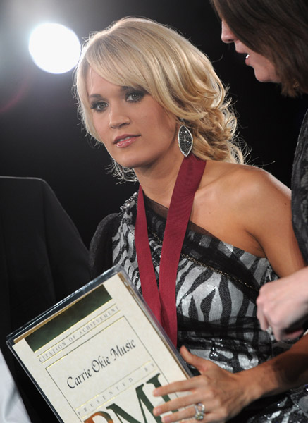 attends the 59th Annual BMI Country Awards on November 8, 2011 in Nashville, Tennessee.
