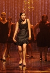 GLEE: Naya Rivera (C) performs the 300th song on the set of GLEE on Wednesday, Oct. 26th. ©2011 Fox Broadcasting Co. CR: Frank Micelotta/FOX