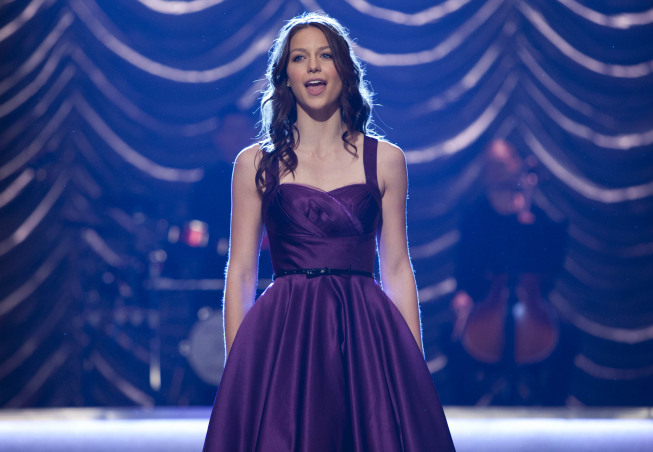 GLEE: Marley (Melissa Benoist) performs at Regionals in the