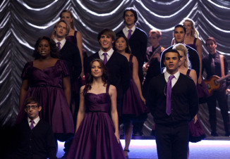 GLEE: The members of New Directions perform at Regionals in the