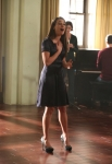 "GLEE: Rachel (Lea Michele) gets a callback for her Broadway audition in the ""All Or Nothing"" season finale episode of GLEE airing Thursday, May 9 (9:00-10:00 PM ET/PT) on FOX. ©2013 Fox Broadcasting Co. CR: Mike Yarish/FOX"