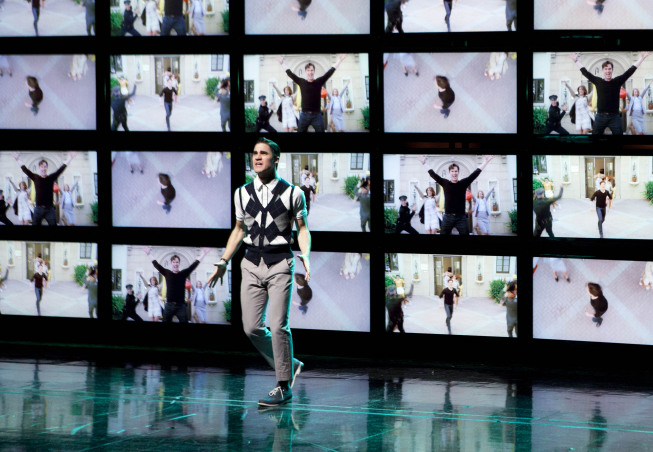 """GLEE: Blaine (Darren Criss) performs in """"Big Brother,"""" the Spring Premiere episode of GLEE airing Tuesday, April 10 (8:00-9:00 PM ET/PT) on FOX. ©2012 Fox Broadcasting Co. Cr: Adam Rose/FOX"""