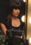 "GLEE: Rachel (Lea Michele) gets ready for her college audition in the ""Choke"" episode of GLEE airing Tuesday, May 1 (8:00-9:00 PM ET/PT) on FOX. ©2012 Fox Broadcasting Co. Cr: Mike Yarish/FOX"