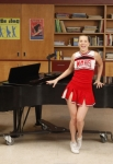 "GLEE: Brittany (Heather Morris) performs in the ""Dance With Somebody"" episode of GLEE airing Tuesday, April 24 (8:00-9:00 PM ET/PT) on FOX. ©2012 Fox Broadcasting Co. Cr: Beth Dubber/FOX"