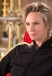 GLEE: Sue (Jane Lynch) offers her advice in the