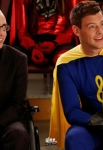 """GLEE: Artie (Kevin McHale, L) and Finn (Cory Monteith, R) in the all-new """"Dynamic Duets"""" episode of GLEE airing Thanksgiving night Thursday, Nov. 22 (9:00-10:00 PM ET/PT) on FOX. ©2012 Fox Broadcasting Co. CR: Jordin Althaus/FOX"""