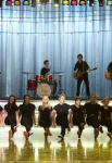 "GLEE: The glee club performs in the ""Girls (And Boys) On Film"" episode of GLEE airing at a special time Thursday, March 7 (9:30-10:30 PM ET/PT) on FOX. Pictured L-R: Blake Jenner, Alex Newell, Darren Criss, Melissa Benoist, Samuel Larsen, Becca Tobin, Chord Overstreet, Jenna Ushkowitz, Jacob Artist, Vanessa Lengies, Heather Morris and Kevin McHale. ©2013 Fox Broadcasting Co. CR: Adam Rose/FOX"