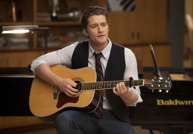 """GLEE: Will (Matthew Morrison) performs for the glee club in the """"Goodbye"""" season finale episode of GLEE airing Tuesday, May 22 (9:00- 10:00 PM ET/PT) on FOX. ©2012 Fox Broadcasting Co. CR: Adam Rose/FOX"""
