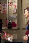 """GLEE: Gloria Estefan (R) guest-stars as Santana's (Naya Rivera, L) mother in the """"Goodbye"""" season finale episode of GLEE airing Tuesday, May 22 (9:00- 10:00 PM ET/PT) on FOX. ©2012 Fox Broadcasting Co. CR: Adam Rose/FOX"""