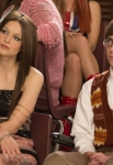 "GLEE: Marley (Melissa Benoist, L) and Artie (Kevin McHale, R) watch a performance in the ""Guilty Pleasures"" episode of GLEE airing Thursday, March 21 (9:00-10:00 PM ET/PT) on FOX. ©2013 Fox Broadcasting Co. CR: Jennifer Clasen/FOX"