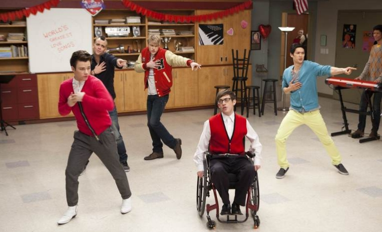 Glee Season 3 Episode 13 Cast