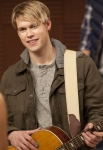 "GLEE: Sam (Chord Overstreet, R) returns to the glee club in the ""Hold on to Sixteen"" episode of GLEE airing Tuesday, Dec. 6 (8:00-9:00 PM ET/PT) on FOX. ©2011 Fox Broadcasting Co. Cr: Adam Rose/FOX"