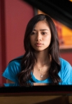 """GLEE: AMERICAN IDOL Season 11 runner up Jessica Sanchez guest stars in the """"Lights Out"""" episode of GLEE airing Thursday, April 25 (9:00-10:00 PM ET/PT) on FOX. ©2013 Fox Broadcasting Co. CR: Eddy Chen/FOX"""