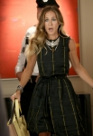 "GLEE: Vogue.com editor Isabelle Klempt (guest star Sarah Jessica Parker) runs into a surprise in the ""Makeover"" episode of GLEE airing Thursday, Sept. 27 (9:00-10:00 PM ET/PT) on FOX. ©2012 Fox Broadcasting Co. Cr: Mike Yarish/FOX"