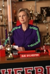 "GLEE: Sue (Jane Lynch) in the ""Makeover"" episode of GLEE airing Thursday, Sept. 27 (9:00-10:00 PM ET/PT) on FOX. ©2012 Fox Broadcasting Co. Cr: Mike Yarish/FOX"
