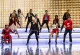 "GLEE: The glee club performs in ""Michael,"" a special episode celebrating the music of Michael Jackson, on GLEE airing Tuesday, Jan. 31 (8:00-9:00 PM ET/PT) on FOX. Pictured L-R: Kevin McHale, Dianna Agron, Chord Overstreet, Jenna Ushkowitz, Chris Colfer, Darren Criss, Heather Morris, Harry Shum Jr., Naya Rivera, Lea Michele, Damian McGinty and Cory Monteith. ©2012 Fox Broadcasting Co. CR: Justin Lubin/FOX"
