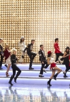 "GLEE: The glee club performs in  ""Michael,"" a special episode celebrating the music of Michael Jackson, on GLEE airing Tuesday, Jan. 31 (8:00-9:00 PM ET/PT) on FOX. Pictured L-R: Kevin McHale, Chord Overstreet, Dianna Agron, Heather Morris, Jenna Ushkowitz, Chris Colfer, Darren Criss, Naya Rivera, Harry Shum Jr., Lea Michele, Cory Monteith, Amber Riley and Damian McGinty.  ©2012 Fox Broadcasting Co. CR: Justin Lubin/FOX"