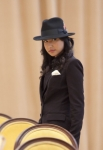"GLEE: Santana (Naya Rivera) performs in the ""Michael"" episode of GLEE airing Tuesday, Jan. 31 (8:00-9:00 PM ET/PT) on FOX. ©2012 Fox Broadcasting Co. CR: Adam Rose/FOX"