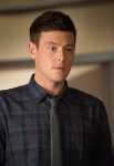 "GLEE: Finn (Cory Monteith) leads the glee club in the ""Naked"" episode of GLEE airing Thursday, Jan. 31 (9:00-10:00 PM ET/PT) on FOX. ©2013 Fox Broadcasting Co. CR: Eddy Chen/FOX"